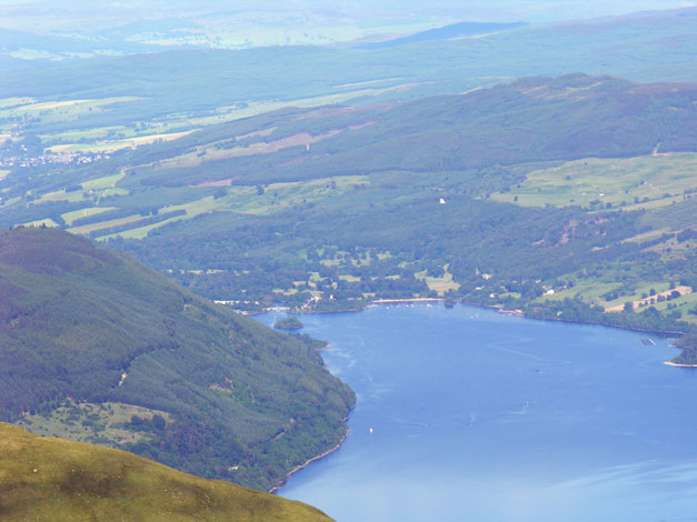 Loch Tay from lawers summit